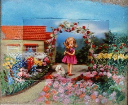 Nina venus art 3d dollhouse