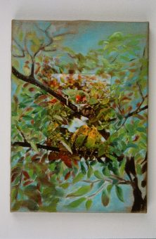 Nina venus art 3d love birds