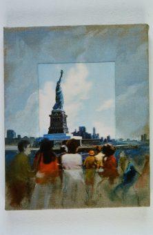 Nina venus art 3d miss liberty