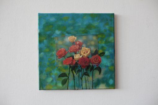 Nina venus art 3d roses