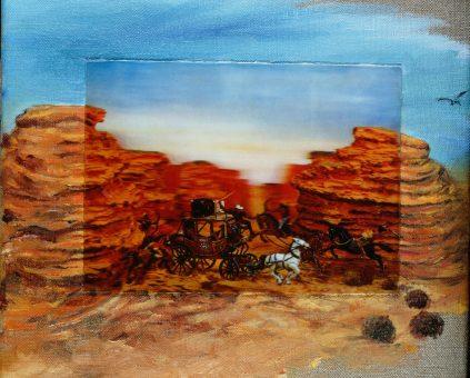 Nina venus art 3d wild west